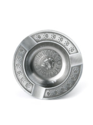 Embossed Metal Ashtray