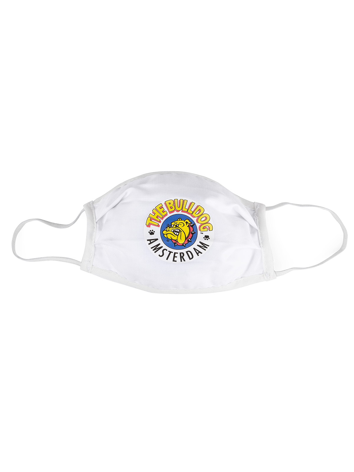 The Bulldog Face Mask The Original is the new stylish functional piece of your wardrobe. Water-repellent mask made of OEKO TEX certified cotton.
