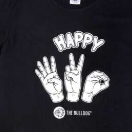 This is a The Bulldog Happy 420 T-Shirt