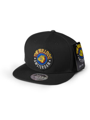 her you see The Bulldog ball Cap black
