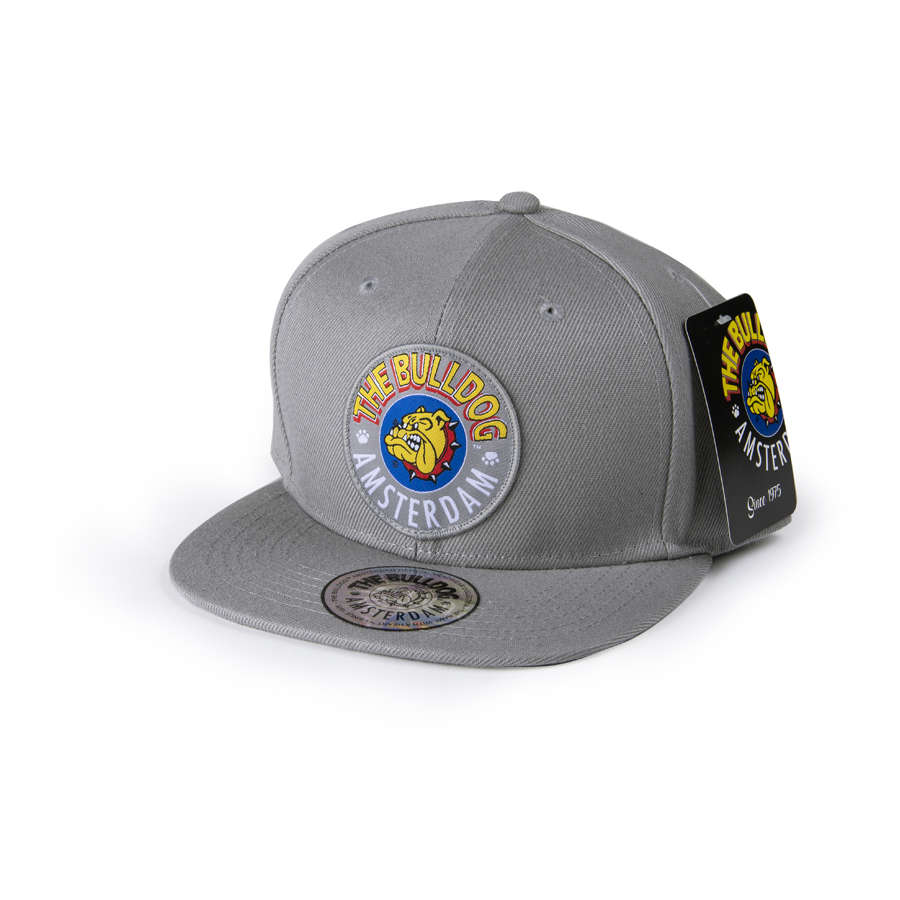 The Bulldog Cap Grey