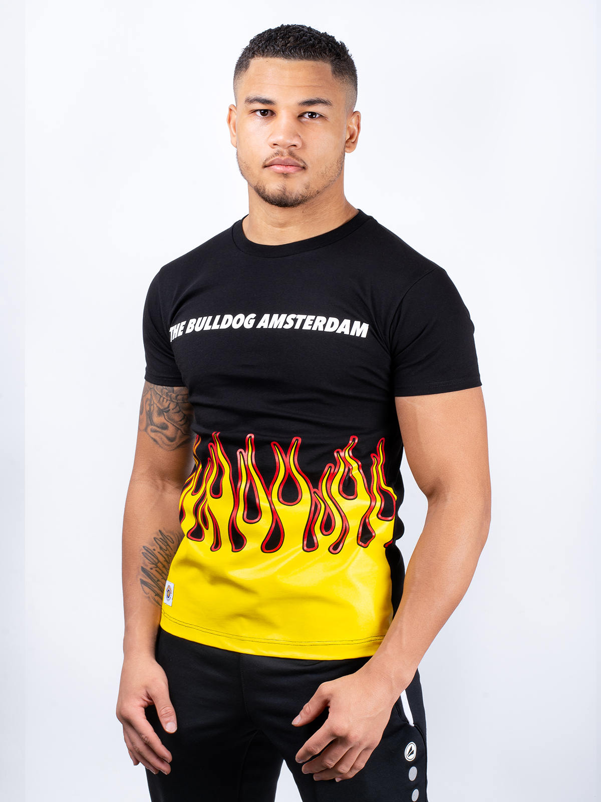 This is a TB All Flames T-Shirt