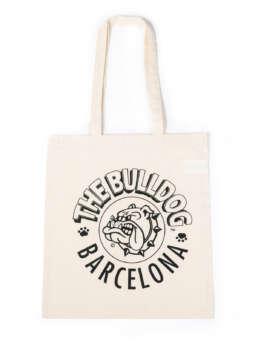Cotton Bag Barcelona Ecru
