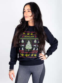 TBA Christmas Sweater Black