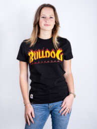 This the TB Flamed Bulldog T-Shirt