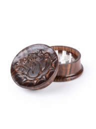 this is a wooden grinder