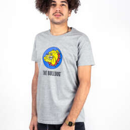 this is the International Logo T-Shirt Grey