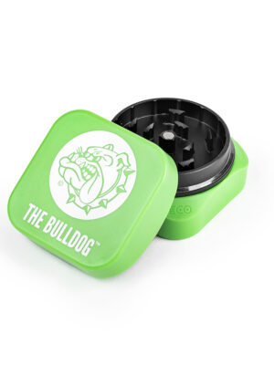 This is a The Bulldog collaboration with Krush Grinders. We have teamed up to introduce the innovative Eco-Cube to our collection of smoking accessories. The Eco-Cube is the perfect addition to The Bulldog range of smoking products, the innovative tooth design allows for flowers to 'fluff' up; making shredding flowers easy than ever before.