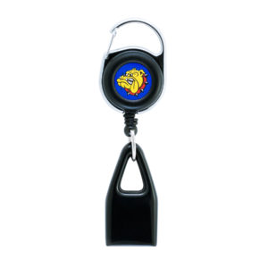 The world-famous Lighter Leash® with the original The Bulldog logo made to hold any standard lighter. (lighter not included)
