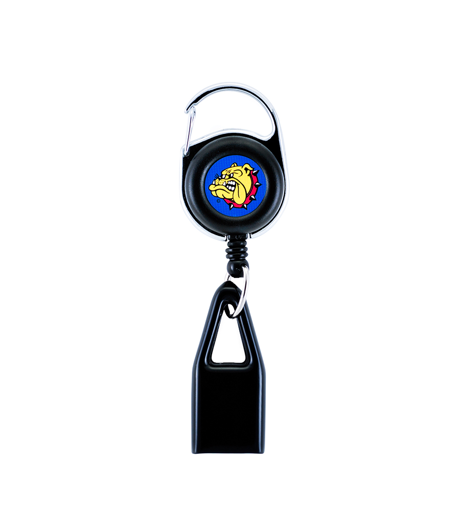 The world-famous Lighter Leash® with the original The Bulldog logo made to hold any mini lighter. (lighter not included)