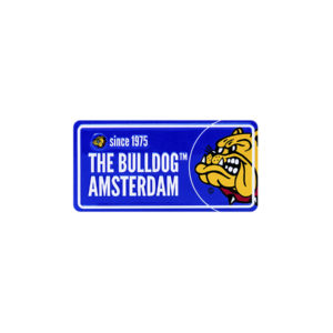 The Bulldog Licence Plate - Blue