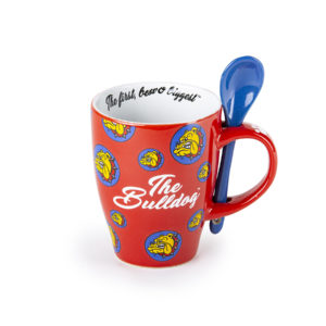TB Mug Spoon red logos