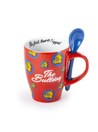 Mug and Spoon Red