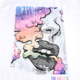 Rainbow Puff T-Shirt White