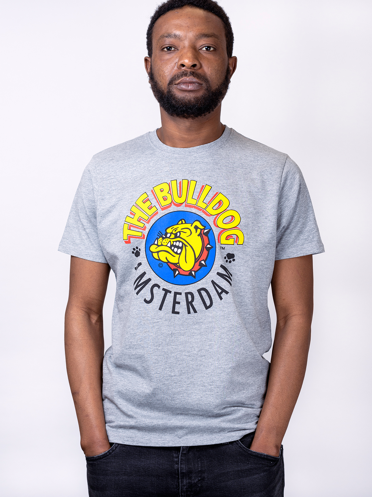 this is a Original T-shirt Grey