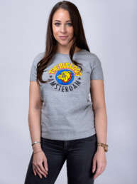 this is an Original T-shirt Ladies Grey