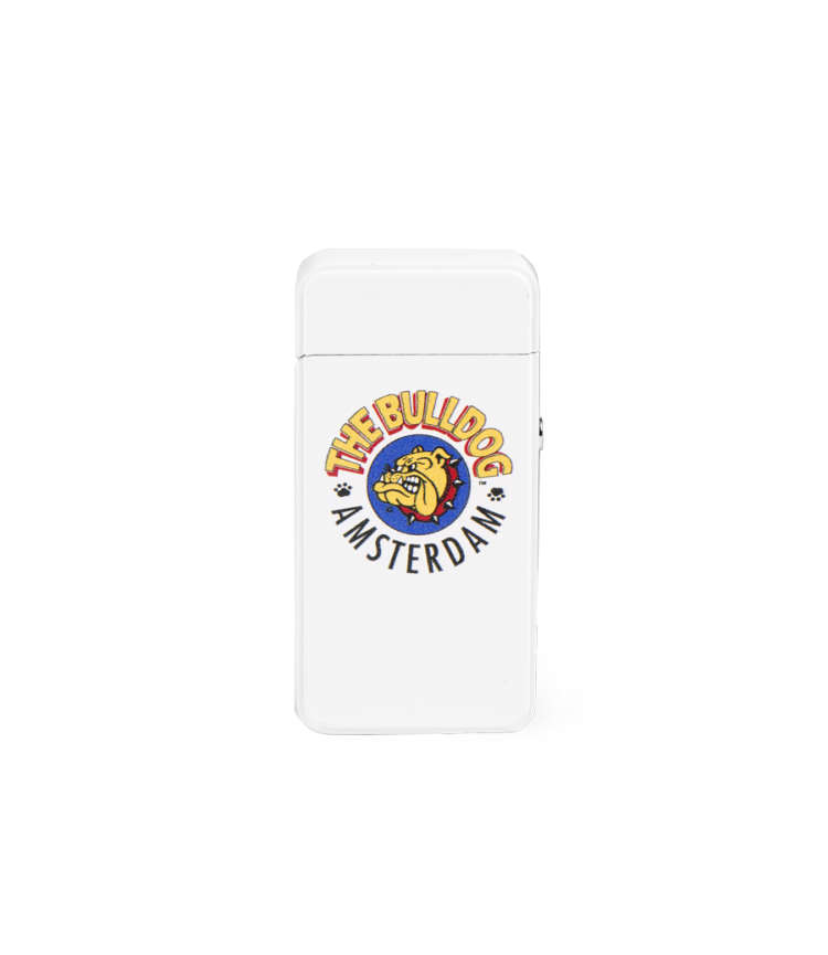 THE BULLDOG LIGHTER PLASMA WHITE
