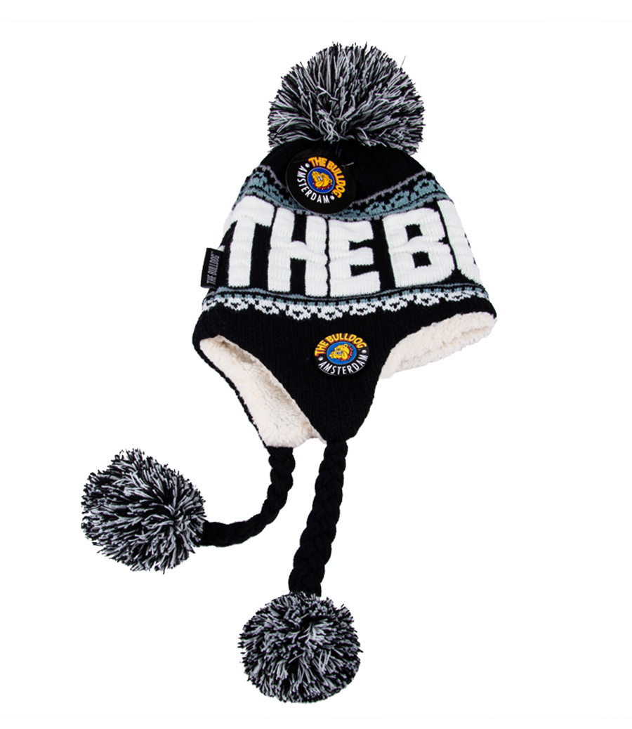 WINTER HAT WITH EAR-FLAPS - The Bulldog Amsterdam Webshop 3e5accc8bdb