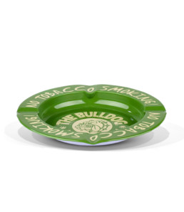Tin Ashtray Green